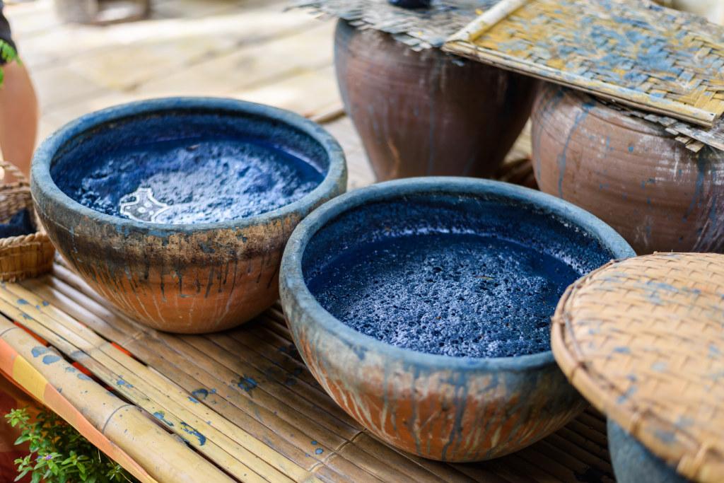 shibori - metoda farbowania tkanin